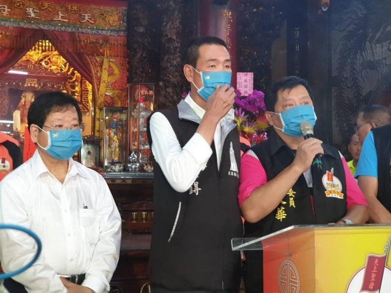 萬泰科技捐贈30萬個防疫口罩,白沙屯媽祖遶境將沿途發放,網友瘋傳「有夠佛心!」